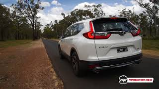 2018 Honda CR-V VTi (1.5 turbo) 0-100km/h & engine sound