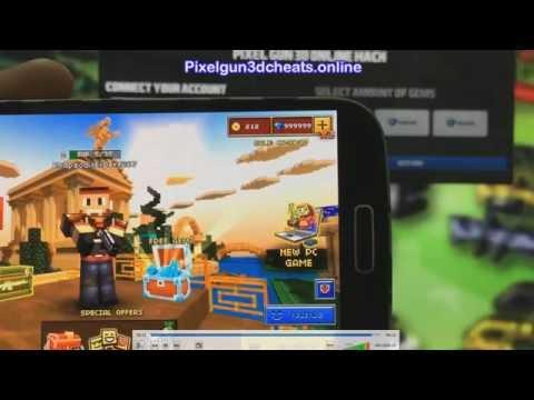 Pixel Gun 3D Hack Android & IOS 2016