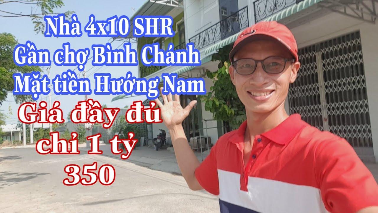 Nhà gần chợ Bình Chánh 4×10 Hướng Nam chỉ 1ty350 | LH 0906485209 zalo/viber Mr Huy