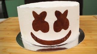 Торт МАРШМЕЛЛОУ НА ХЭЛЛОУИН. Как сделать торт из маршмеллоу | Marshmello cake