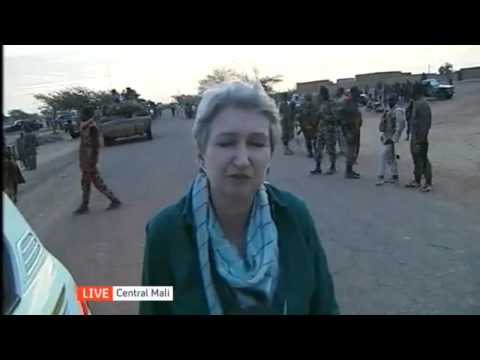 Lindsey Hilsum reports outside Islamist stronghold Gao