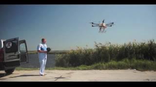 �������� ���� Odonata Agro - дрон для сельского хозяйства и медицины ������