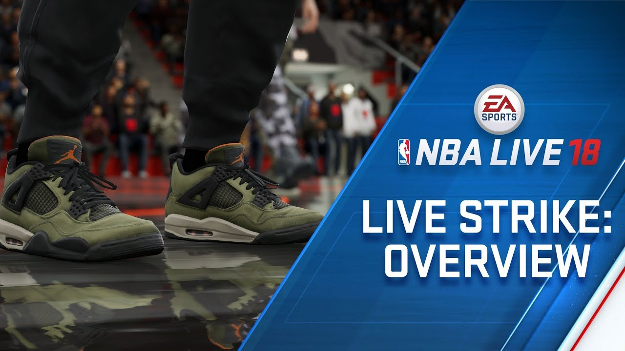 NBA LIVE 18 - LIVESTRIKE - Earn Gear from BAPE, Pink Dolphin and Undefeated
