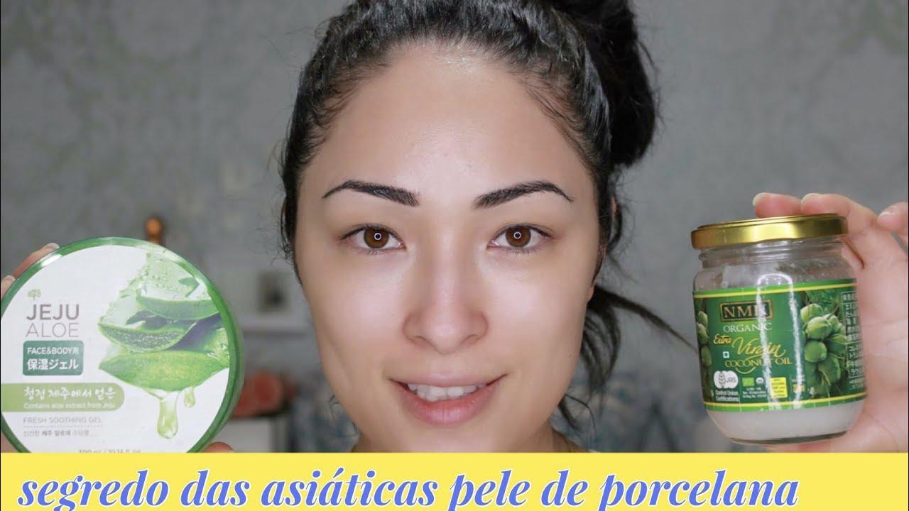 Segredo Das Asiaticas Pele De Porcelana Mascara De Cha Matcha E Oleo