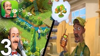 GARDENSCAPES NEW ACRES Walkthrough Gameplay Part 3 - Day 3 (iOS Android)