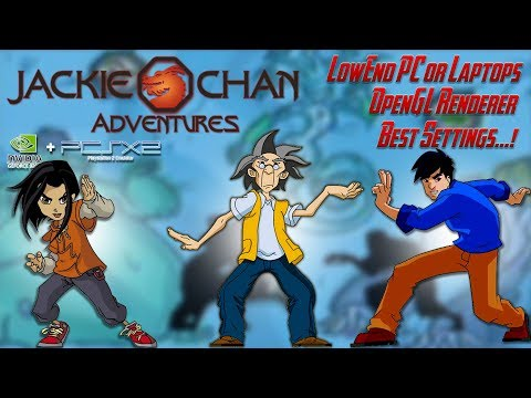 Jackie Chan Adventures - PCSX2 60 FPS - OpenGL Best Settings And Gameplay - GeForce 920M