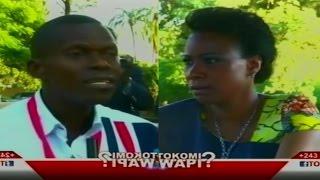 Tokomi Wapi : Maman Olive Lembe face à Ndeko Eliezer. A tuni ba questions pendant 30 minutes. SOMO