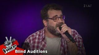 Μανώλης Μπρίμπος - Ring of Fire | 8o Blind Audition | The Voice of Greece