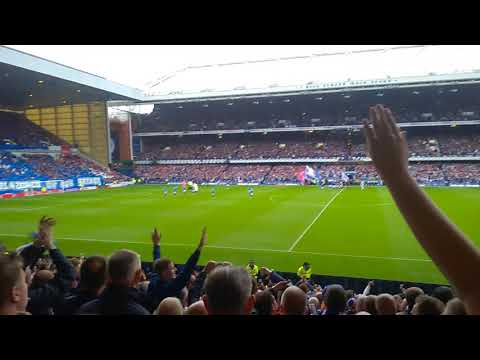 Rangers v Celtic 2017 - Simply the best - Blue sea of Ibrox