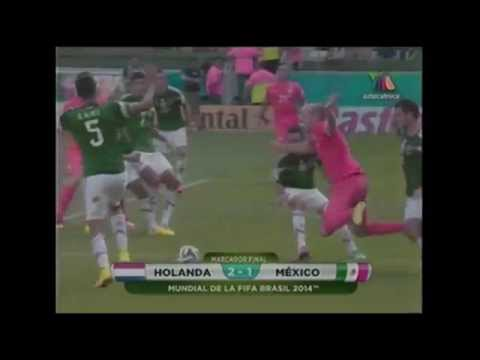 2014 FIFA World Cup Brazil-Holanda VS México-Video by LIVEISLIFE