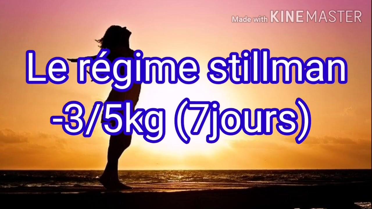 رجيم stillman لانقاص من 3 إلى 5 كغ في 7 ايام