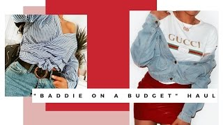 "Video ""BADDIE ON A BUDGET"" TRY ON CLOTHING HAUL (ROSEGAL & FAIRYSEASON) 