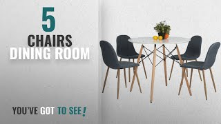 Top 10 Chairs Dining Room [2018]: Kitchen Dining Table White Round Coffee Table Modern Leisure