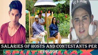 Salary of Mtv SPLITSVILLA 10 Hosts and Contestants Per Episode-Highest paiid contestants-sunny leone