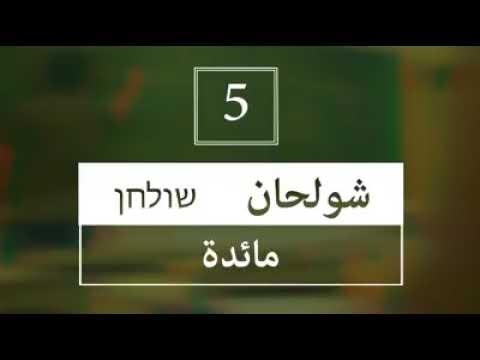 تعرف الى اسرائيل – هل تعرفون معاني الكلمات التالية بالعبرية؟