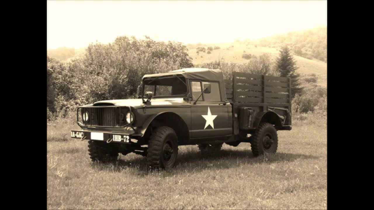 Kaiser Jeep M715 Restoration Project - YouTube