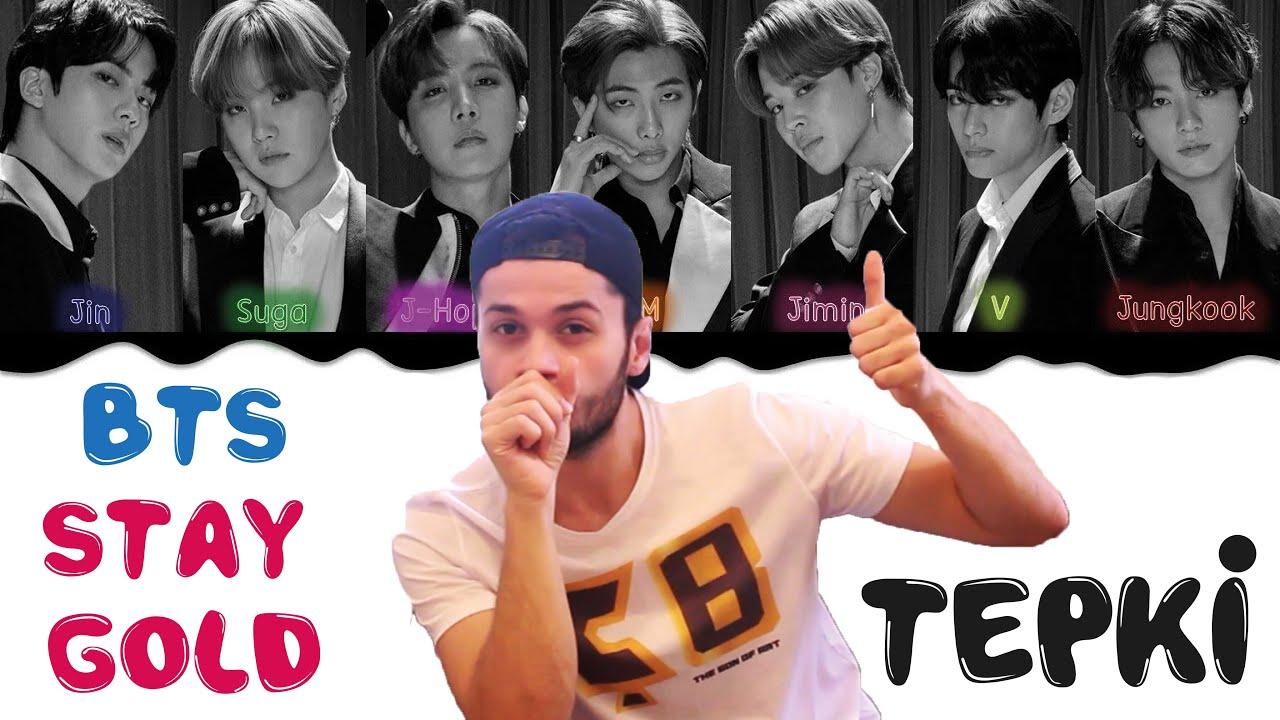 İLK BTS TEPKİ VİDEOM I ''STAY GOLD''