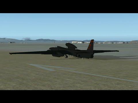 Lockheed U-2 Spionage Airplane Edwards AFB FSX Addon simviation