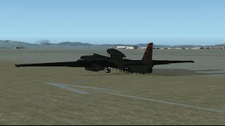 Lockheed U-2 Spionage Airplane Edwards AFB FSX Addon simviation