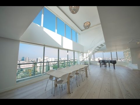 Billionaire Bachelor Pad – Celebrity Style Penthouse in Bangkok