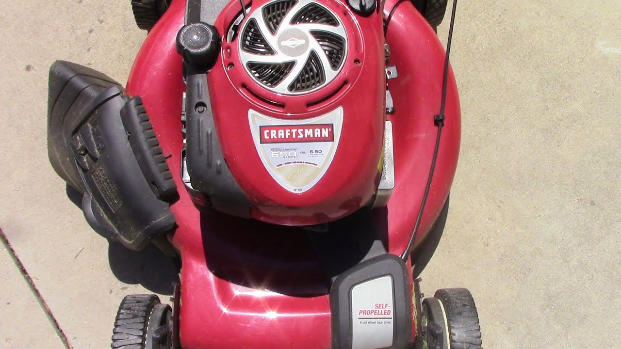 5 minute fix for a lawn mower that starts then stalls