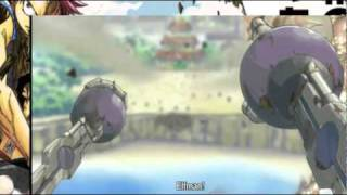 Elfman vs Sol (Element 4) English Sub [Fairy Tail]
