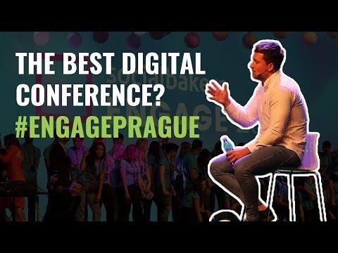 Best Digital Conference Ever! #EngagePrague - Knowlton Bros Vlog 003