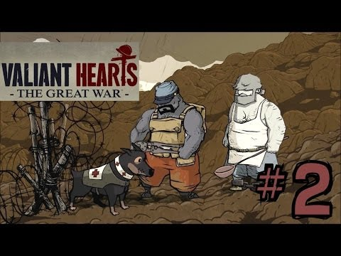 Let's Play Valiant Hearts - The Great War #2 Choking Back The Tears