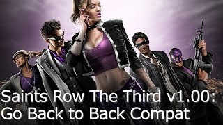 Saints Row The Third - 1.00 Framerate Test for Switch (Docked/Portable)
