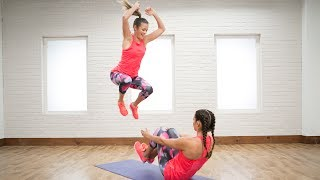 1 Move to Burn Calories With a Buddy   Class FitSugar