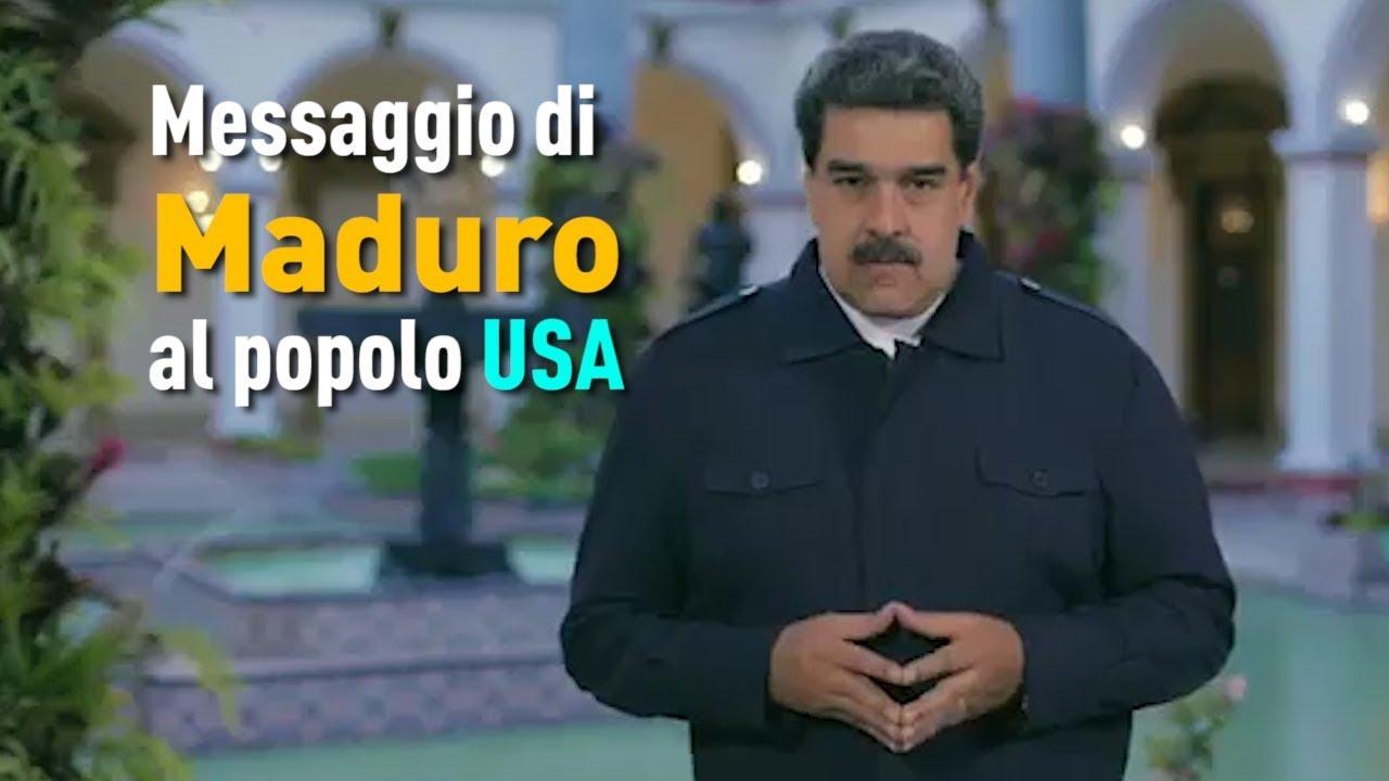 Messaggio di Maduro al popolo USA