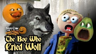 Annoying Orange - Storytime #12: The Boy Who Cried Wolf