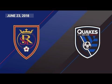 HIGHLIGHTS: Real Salt Lake vs. San Jose Earthquakes | June 23, 2018