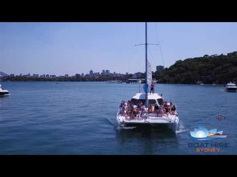 Cruise On Catalpa - Sam's Hens Party - Boat Hire Sydney