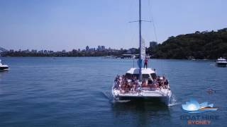 Cruise on Catalpa - Sam's Hens Party - Boat Hire Sydney