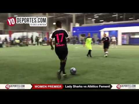 Lady Sharks vs Atlético Femenil Champions Femenil Latino Premier Academy Soccer League