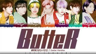Download BTS - 'BUTTER' (Cooler Remix) Lyrics [Color Coded_Eng]