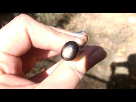 Excellent Thai Black Star Sapphire Gemstone from KGC