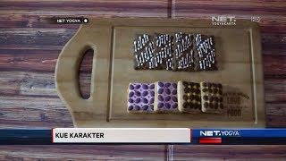 NET YOGYA - Kue Kering Motif Batik Oleh-Oleh Khas Yogyakarta