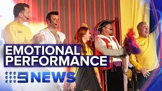 Wiggles perform to sell-out crowd as Greg Page recovers | Nine News Australia