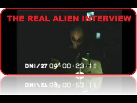 The Real Alien Interview   Area 51 Interview with an Extraterrestrial Biological Entity