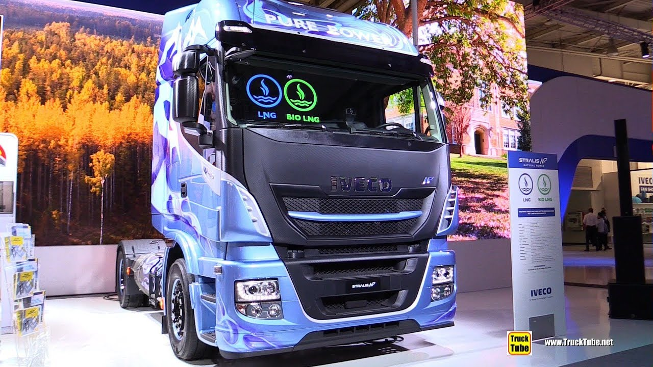 2019 Iveco Stralis NP460 LNG Tractor with 1600km Range ...