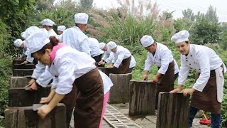 My First Day at Culinary School in China