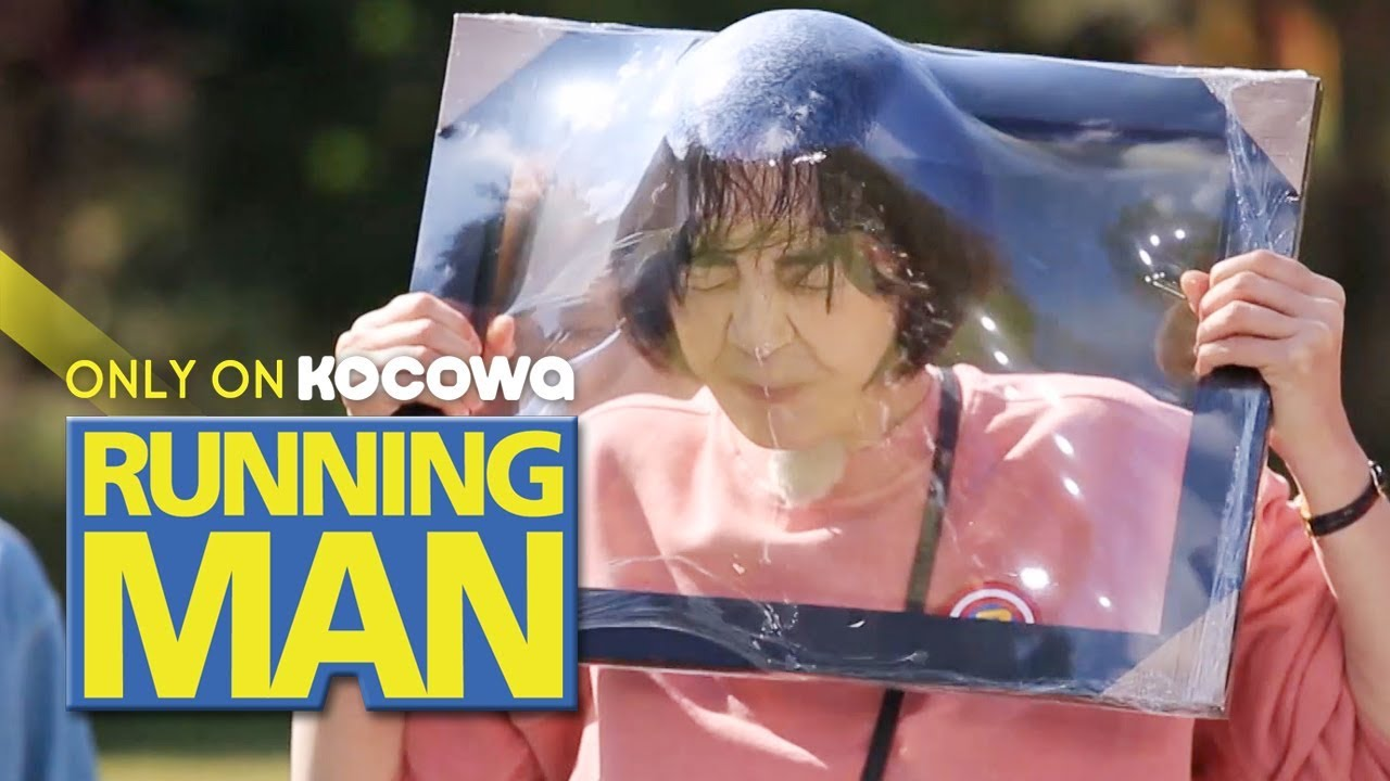 Lee Ha Na is Determined!!! She Really is a Wrap Monster! [Running Man Ep 422]