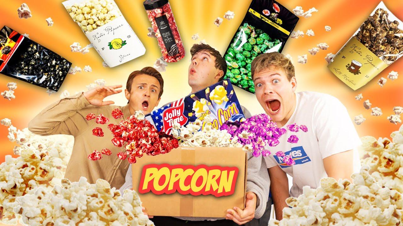 Der GROßE POPCORN TEST mit Dima und Joey 🍿