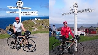 SOLO CYCLE FROM LAND'S END TO JOHN O'GROATS a film by mary spender