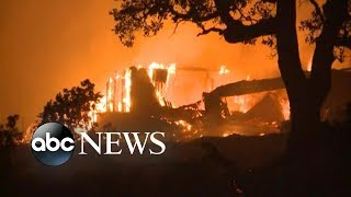 Entire California town destroyed by Camp Fire