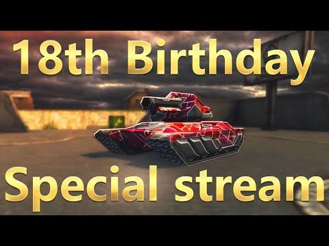 18th Birthday   Special Live Stream! Tanki Online!