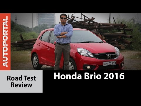 2016 Honda Brio Test Drive Review - Autoportal