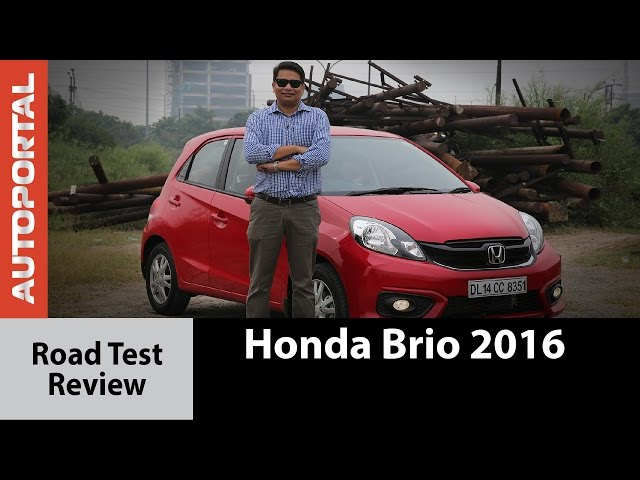 2016 Honda Brio Test Drive Review - Autoportal